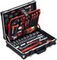 CONNEX Werkzeugkoffer, Aluminium, bestückt, 131-teilig-Thumbnail