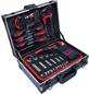 CONNEX Werkzeugkoffer »COX566101«, Aluminium, bestückt, 100-teilig-Thumbnail