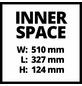EINHELL Werkzeugkoffer »E-Box M55/40«-Thumbnail