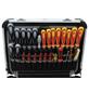 FAMEX Werkzeugkoffer »FAMEX 414-20«, Metall, bestückt, 174-teilig-Thumbnail