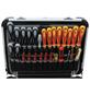 FAMEX Werkzeugkoffer »FAMEX 418-20«, Metall, bestückt, 66-teilig-Thumbnail