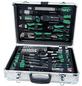 BRUEDER MANNESMANN WERKZEUGE Werkzeugkoffer »M29075«, Aluminium, bestückt, 108-teilig-Thumbnail