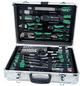 BRUEDER MANNESMANN WERKZEUGE Werkzeugkoffer »M29075«, Metall, bestückt, 108-teilig-Thumbnail