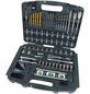 BRUEDER MANNESMANN WERKZEUGE Werkzeugkoffer »M29087«, Kunststoff, bestückt, 163-teilig-Thumbnail