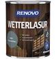 RENOVO Wetterlasur, für außen, 0,75 l, Friesenblau, seidenglänzend-Thumbnail