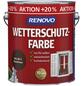 RENOVO Wetterschutzfarbe, Nussbaum, 3 l, Glänzend-Thumbnail