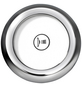 OTTOFOND Whirlpool »Cascade «, für 1 Person, BxTxH: 140x140x43 cm-Thumbnail