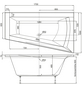 OTTOFOND Whirlpool »Galia I«, für 1 Person, BxTxH: 100 x 170 x 50 cm-Thumbnail
