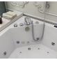 HOME DELUXE Whirlpoolwanne »Atlantic L«, BxHxL: 140 x 64 x 140 cm, weiß, Farblichttherapie-Thumbnail