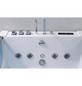 HOME DELUXE Whirlpoolwanne »Atlantic XL«, BxHxL: 180 x 40 x 120 cm, weiß, Farblichttherapie-Thumbnail