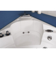 HOME DELUXE Whirlpoolwanne für 3 Personen, BxTxH: 135x135x65 cm-Thumbnail