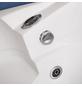 HOME DELUXE Whirlpoolwanne »Laguna«, BxHxL: 135 x 65 x 135 cm, weiß, Farblichttherapie-Thumbnail