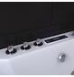HOME DELUXE Whirlpoolwanne »White M Light«, BxHxL: 180 x 55 x 90 cm, weiß, Farblichttherapie-Thumbnail