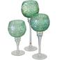 BOLTZE Windlicht »Minou«, hellgrün, Glas-Thumbnail