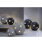 Windlicht Windlicht Sternkugel, D 23xH 22 cm, anthrazit mit Glitter, Magnesia-Thumbnail