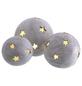 Windlicht Windlicht Sternkugel, D 23xH 22 cm, creme mit Glitter, Magnesia-Thumbnail