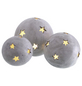 Windlicht Windlicht Sternkugel, D 28,5xH 26 cm, creme mit Glitter, Magnesia-Thumbnail