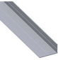 alfer® aluminium Winkelprofil Alu silber 1000 x 65,6 x 35,5 x 2,4 mm-Thumbnail