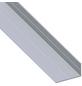 alfer® aluminium Winkelprofil combitech® Alu silber 2500 x 43,5 x 23,5 x 1,5 mm-Thumbnail