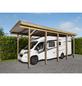 MR. GARDENER Wohnmobil-Einzelcarport »Bremen«, natur-Thumbnail
