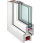 RORO Wohnraumfenster »3-Scheiben «, Kunststoff, weiß, Glasstärke 32mm-Thumbnail