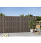 MR. GARDENER WPC-Bohlenzaun »Ibiza«, Holz-Kunststoff-Verbundwerkstoff, 1 Grundelement, HxL: 180 x 180 cm-Thumbnail