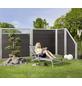 MR. GARDENER WPC-Sichtschutzelement »Moglia«, HxL: 180 x 180 cm, anthrazit-Thumbnail