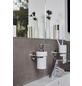 WENKO Zahnputzbecher »Capri«, Keramik/Zinkdruckguss, weiß/chromfarben-Thumbnail