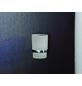 FACKELMANN Zahnputzbecher »Fusion«, Höhe: 9,5 cm, edelstahlfarben-Thumbnail