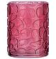 WENKO Zahnputzbecher, Glas, pink, rund-Thumbnail