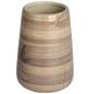 WENKO Zahnputzbecher, Keramik, beige, rund-Thumbnail