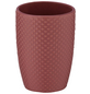 WENKO Zahnputzbecher, Keramik, rosa, rund-Thumbnail