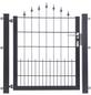 FLORAWORLD Zauntor, HxL: 100 x 100 cm, Stahl, anthrazit-Thumbnail