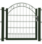 FLORAWORLD Zauntor, HxL: 100 x 100 cm, Stahl, grün-Thumbnail