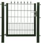 FLORAWORLD Zauntor, HxL: 80 x 100 cm, Stahl, grün-Thumbnail