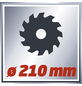 EINHELL Zug-Kapp-Gehrungssäge »TC-SM 2131«, ⌀210 mm-Thumbnail