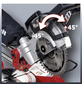 EINHELL Zug-Kapp-Gehrungssäge »TC-SM 2131 Dual«, Sägeblatt Durchmesser: 210 mm, 1800 W-Thumbnail