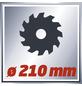 EINHELL Zug-Kapp-Gehrungssäge »TC-SM 2131«, Sägeblatt Durchmesser: 210 mm, 1800 W-Thumbnail