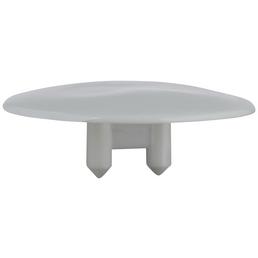 HETTICH Abdeckkappe, rund, weiß, Ø 30 x 10 mm