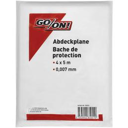 GO/ON! Abdeckplane, Weiß, 4 x 5 m