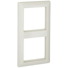 JUNG Abdeckrahmen, AS500, 2-fach, Weiß, Kunststoff