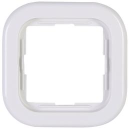 KOPP Abdeckrahmen, Serie DONAU, Weiß, Kunststoff