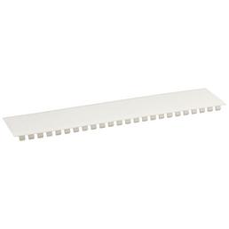 SLS-ELEKTRO Abdeckstreifen, Kunststoff, Weiß, LxB: 22 x 5 cm, für 12 PLE