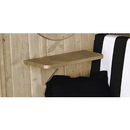 WEKA Ablage-Set für Gartenhäuser, Holz