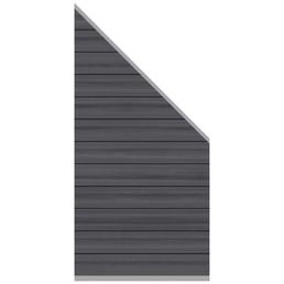 TraumGarten Abschlusselement »System Platinum«, WPC, LxH: 178 x 183 cm