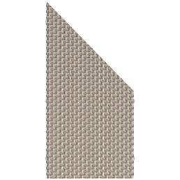 TraumGarten Abschlusselement »WEAVE Classic«, Polyrattan, LxH: 88 x 178 cm