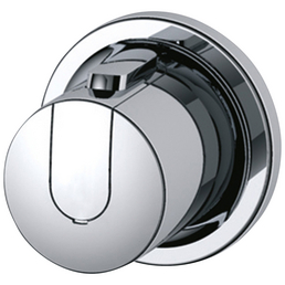 IDEAL STANDARD Absperr-Umstellventil »CeraTherm 100«, Vanadin Elektrostrahl, silberfarben