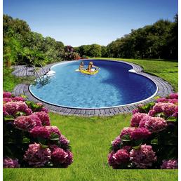 SUMMER FUN Achtformbecken-Set Achtformbeckenset , achtform, BxLxH: 460 x 725 x 120 cm