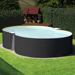 SUMMER FUN Achtformpool Set , achtform, BxLxH: 420 x 650 x 120 cm