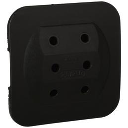 KOPP Adapter 3-fach schwarz 3x 2,5 A